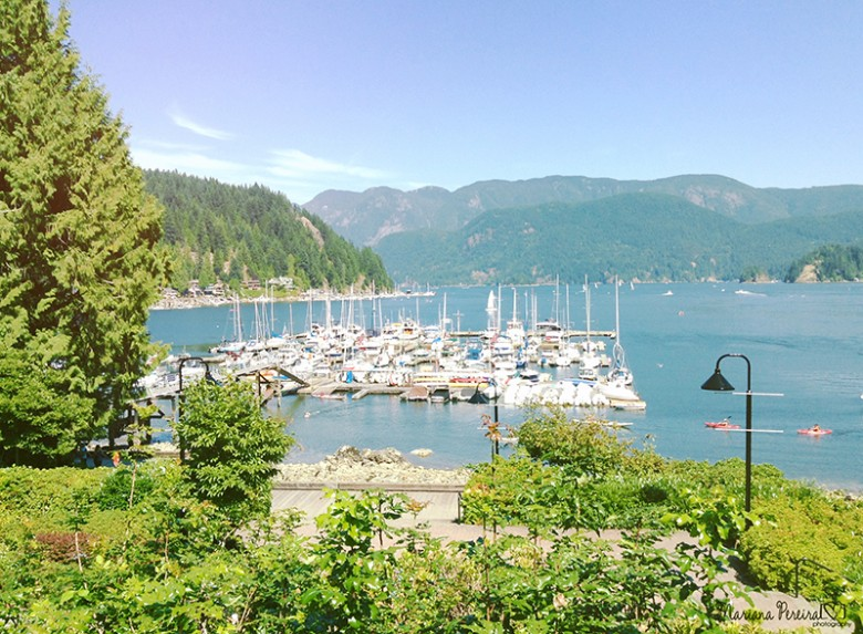 Deep Cove, British Columbia, Canadá - Agosto de 2014